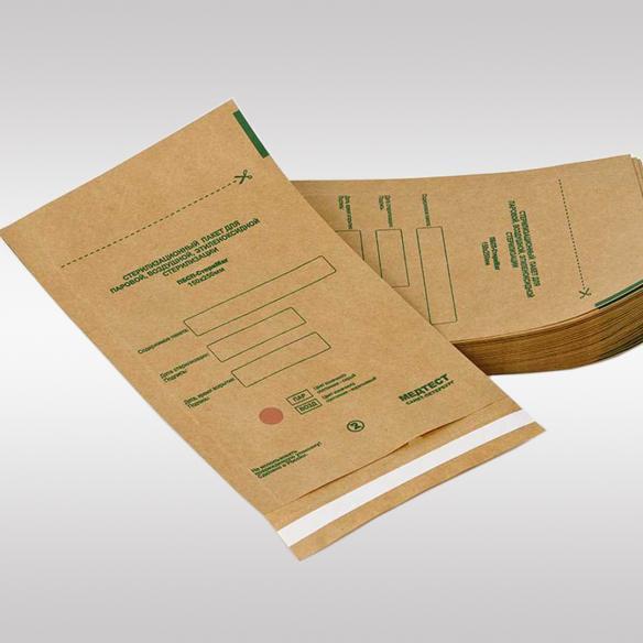 Крафт-пакеты бумажные самоклеющиеся