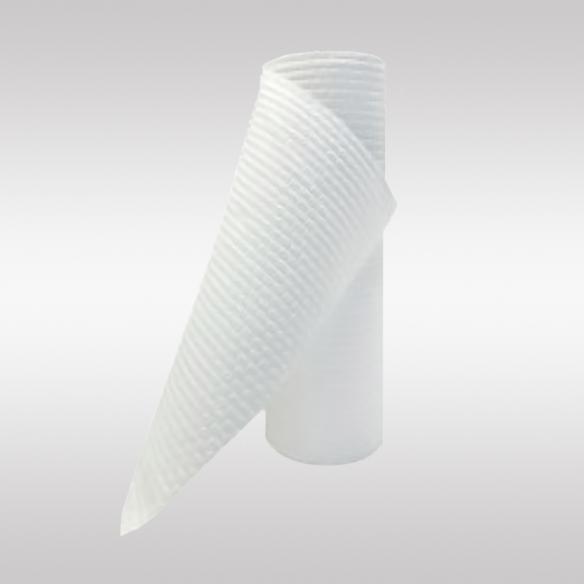 Полотенца одноразовые в рулоне с тиснением Соты 35*70 см.